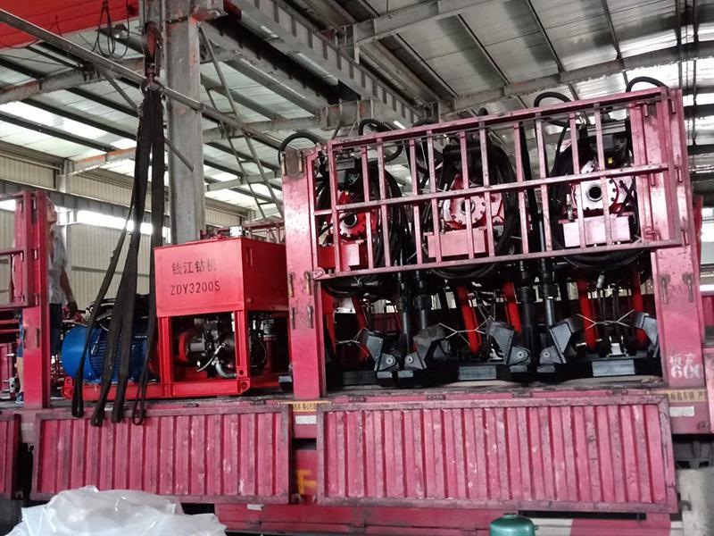 陝西省銅(tong)川某煤(mei)礦ZDY3200S鑽機按時發貨