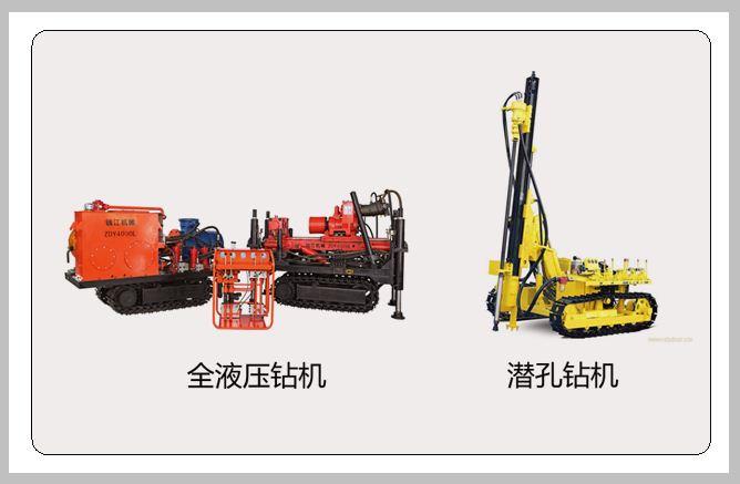 全液压钻机和潜孔钻机的区别