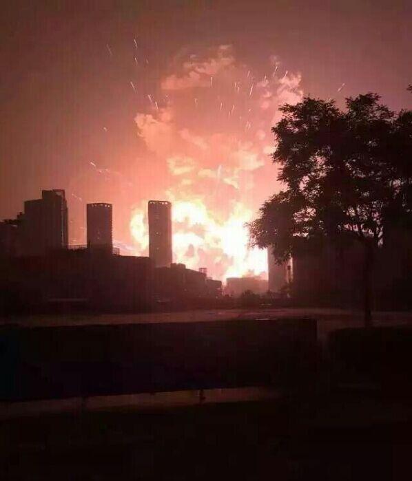天津塘沽爆炸