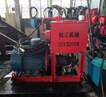 陕西韩城某煤矿定购的ZDY3200S钻机发货